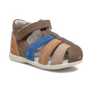 Kickers schoentjes Babysun marron bleu