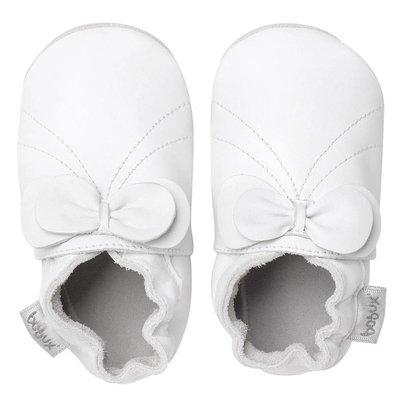 Bobux babyslofjes White bow