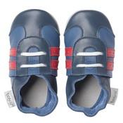 Bobux babyslofjes Sport shoe navy red