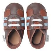Bobux babyslofjes Sport shoe tan