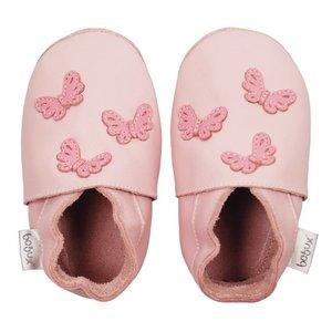 Bobux babyslofjes Blossom butterflies