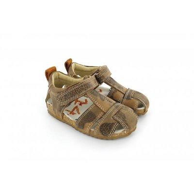 Shoesme sandalen bruin camouflage
