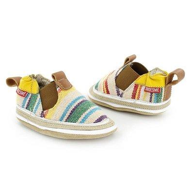 Shoesme babyslofjes Babyproof Soft espadrille geel