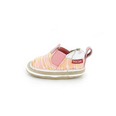 Shoesme babyslofjes Babyproof Soft espadrille roze