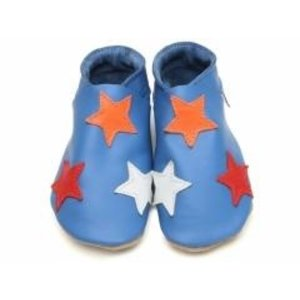 Starchild babyslofjes stars blue colours