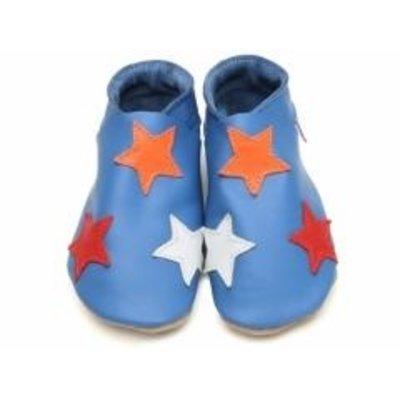 Starchild babyslofjes stars blue colours
