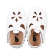 Bobux babyslofjes White sandal