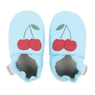 Bobux babyslofjes Aquino cherry