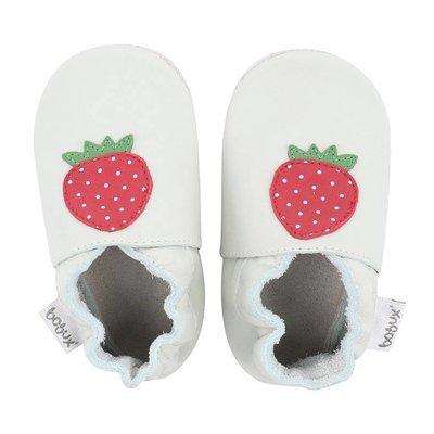 Bobux babyslofjes Mint strawberry