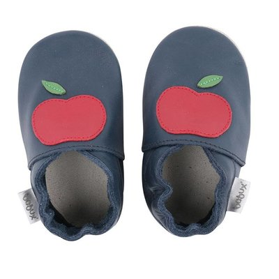 Bobux babyslofjes Navy apple