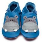 Inch Blue babyslofjes hippo blue grey