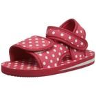 Playshoes watersandaaltjes rood met witte stippen
