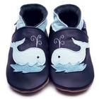 Inch Blue babyslofjes whale navy