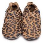 Inch Blue babyslofjes plain leopard