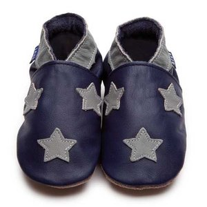 Inch Blue babyslofjes stardom navy grey