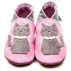 Inch Blue babyslofjes meeow baby pink grey