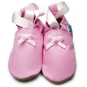 Inch Blue babyslofjes rose ballet baby pink