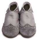 Inch Blue babyslofjes broque grey