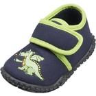Playshoes pantoffels draak marine