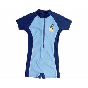 Playshoes swimsuit Basic blauw