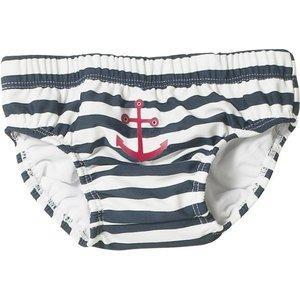 Playshoes zwemluier Maritiem marine wit