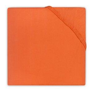 Jollein hoeslaken katoen oranje