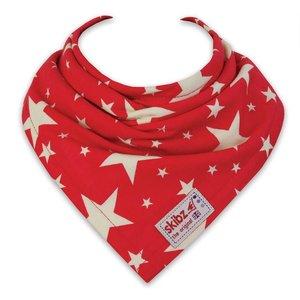 Skibz bandana sterren rood