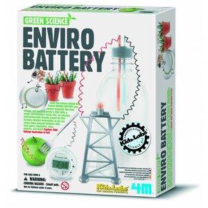 4M KidzLabs Green Science: natuurlijke batterij