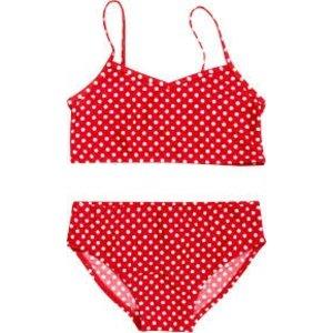 Playshoes bikini stippen rood