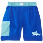 Playshoes magic zwemshort blauw haai