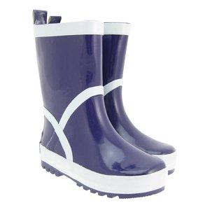 Playshoes regenlaarzen uni paars
