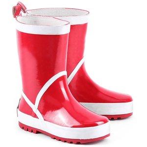 Playshoes regenlaarzen uni rood