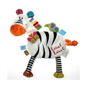 Label Label doekje zebra