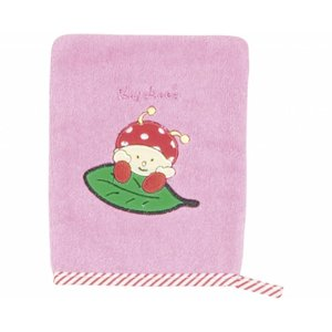 Playshoes washand roze paddenstoel