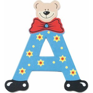 Playshoes houten letter A