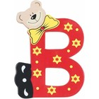 Playshoes houten letter B