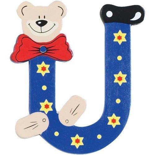 playshoes houten letter u een leuke houten letter voor op