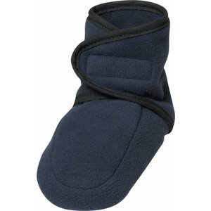 Playshoes fleece slofjes marine