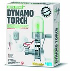4M KidzLabs Green Science dynamo lamp