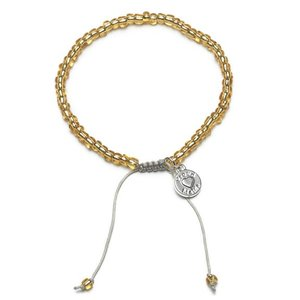 armband Beads goud