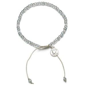 Proud MaMa armband Beads grijs