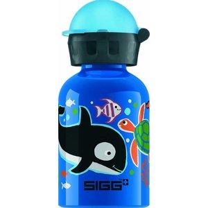 Sigg drinkbeker zeedieren blauw (0,3l)