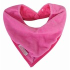 Silly Billyz snuggly towel bandana fuchsia