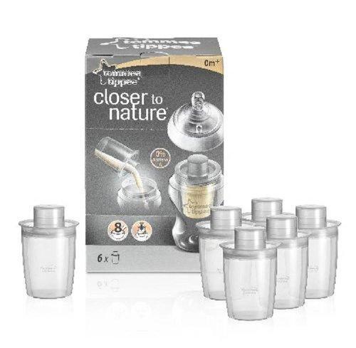Tommee Tippee Closer to Nature melkpoederhouder set van 6
