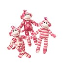 Print Pizzazz knuffel Lovely Little Sock Monkey