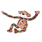 Print Pizzazz knuffel Zazzylegs Puppy
