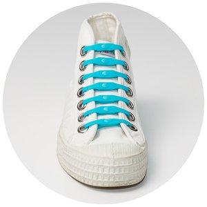 Shoeps elastische veters indigo