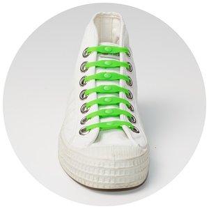 Shoeps elastische veters groen