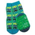 Ewers anti-slip sokken Stoppi vissen groen blauw