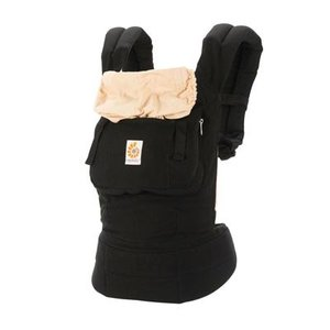 Ergobaby babydraagzak Original Black Camel